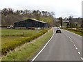 NS6595 : A811, Crawfordston by David Dixon