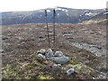 NN6173 : A summit cairn on hill with no name by Liz Gray