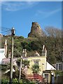 TQ8109 : Castledown Terrace & Hastings Castle by Oast House Archive
