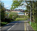 SK3871 : Crow Lane towards Chesterfield town centre by Andrew Hill