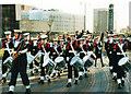 SP0686 : Parade for HMS Birmingham 1999 by Roy Hughes