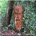 TQ4793 : Hainault Forest Tree Sculpture (1) by Roger Jones