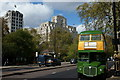 TQ3080 : Vintage Routemaster on the Victoria Embankment, London by Peter Trimming