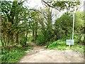 SE2316 : Public bridleway, Upper Denby by Christine Johnstone