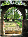 TL7452 : St Margaret's church in Stradishall - view from the porch : Week 18