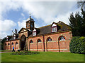 ST9701 : Stable Block with Clock Tower, Kingston Lacy, Dorset by Christine Matthews
