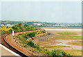 SW5436 : The Saltings From Lelant Saltings Station 2000 by Roy Hughes