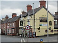 SJ6966 : The Golden Lion, Middlewich by Ian S