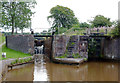 SJ8156 : Paired Locks No 47 near Church Lawton, Cheshire by Roger  Kidd