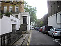 TQ2479 : Edwardes Square, Kensington by PAUL FARMER