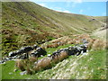 NY3430 : Sheepfold, Bullfell Beck by Michael Graham