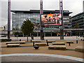SJ8097 : MediaCityUK, Plaza and Quay House by David Dixon