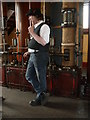 SK2625 : Claymills Victorian Pumping station - the gospel according to Luke by Chris Allen