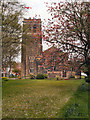 SD8402 : The Parish Church of St Matthew with St Mary, Crumpsall by David Dixon