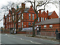 SD8402 : Crumpsall Lane Primary School by David Dixon