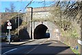 SK5901 : Bridge/Tunnel under the Midland Mainline by Ashley Dace
