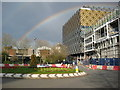 SP0686 : Rainbow over the new library by Philip Halling