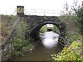 SK3484 : River Sheaf passes under main railway line into Sheffield by Alan Heardman