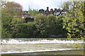 SO5174 : Weirs on the River Teme by Roger Davies