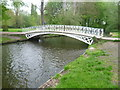 TQ2668 : Ornamental bridge in Morden Hall Park by Ian Yarham