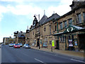 SE1147 : Ilkley, Yorkshire:  Town Hall and Library by Dr Neil Clifton
