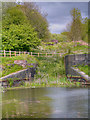 SD7506 : Prestolee Locks (Nob End Locks), Manchester,Bolton and Bury Canal by David Dixon