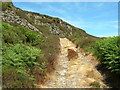 SK0499 : Track up to Disused Quarry by John Topping