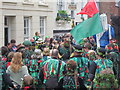 TQ8209 : Jack in the Green festival, High Street by Oast House Archive