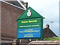 SK3487 : Somme Barracks Sign, West Street, Sheffield by Terry Robinson