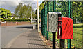 J3977 : Letter box and drop box, Holywood by Albert Bridge