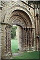SJ7314 : Lilleshall Abbey: west door by Christopher Hilton