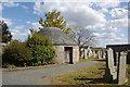 NJ8826 : The morthouse, Udny Green churchyard by Bill Harrison