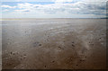 NX9653 : Mersehead Sands by Walter Baxter