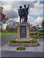 SD7430 : War Memorial, Mercer Park, Clayton-le-Moors by David Dixon