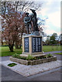 SD7430 : Clayton-le-Moors War Memorial, Mercer Park by David Dixon