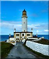 NW9872 : Entrance to Corsewall Lighthouse by Andy Farrington