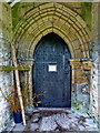 SD6535 : The Church of St Saviour, Stydd, Ribchester, Doorway by Alexander P Kapp