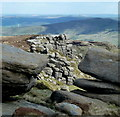 SK0886 : The Wool Packs, a rocky area of moorland by Andrew Hill