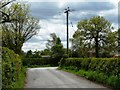 SJ7376 : Turn left for Heathfield Nursery by Christine Johnstone