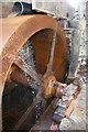 SO3791 : Whitcot Mill, waterwheel by Chris Allen