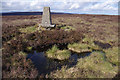 SD5648 : Trig point, Hazelhurst Fell by Ian Taylor