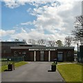 SJ9297 : Oxford Park Pavilion by Gerald England