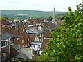 TQ4110 : Lewes viewed from the Barbican by pam fray