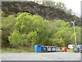 NM7136 : Recycling point at Craignure by M J Richardson