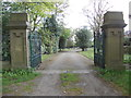 SE1232 : Entrance to Clayton Cemetery by Betty Longbottom