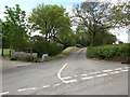 SX8373 : Looking down Perry Lane from Perry Cross by David Gearing