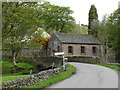 SK0066 : Chapel by a bridge over the River Dane by Peter Barr
