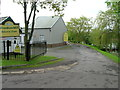 TM0933 : Entrance to Brantham Mill Industrial Estate by JThomas