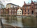 TL0449 : Rowers on the River Great Ouse by Paul Gillett