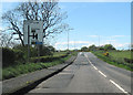 NY3067 : Junction for A75 from B721 just west of Gretna by John Firth